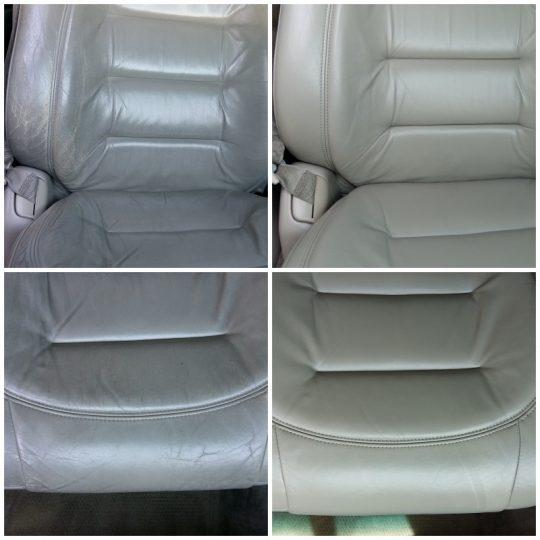 Cadillac Sitz vorher / nachher