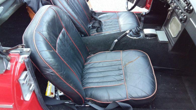 MG Sitze sind ausgetrocknet