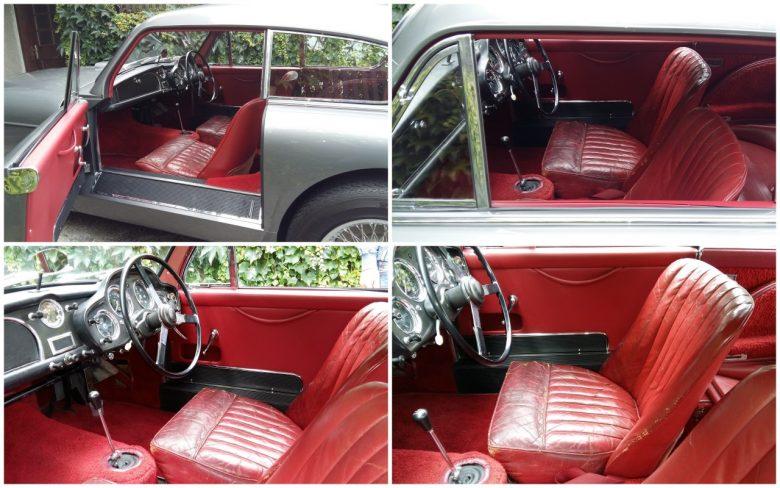 ein alter Aston Martin