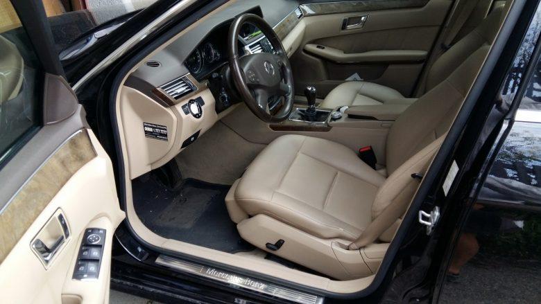 ein Mercedes Fahrersitz