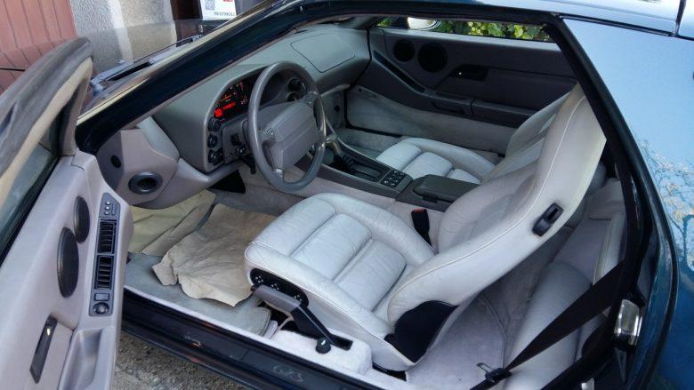 Porsche 928 GTS Sitze sind abgenützt
