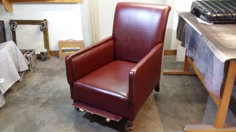 der alte Stuhl ist wieder schön