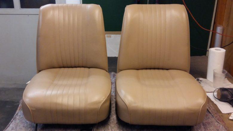 die Sitze sehen wieder top aus
