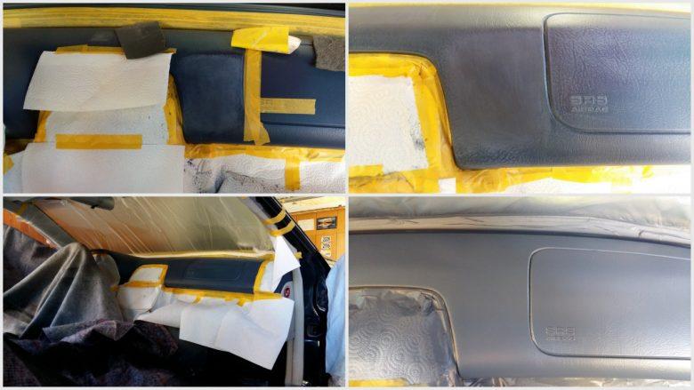 Arbeitsablauf der Reparatur im Auto