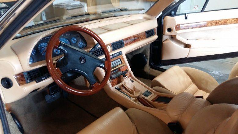 ein schöner Maserati Oldtimer