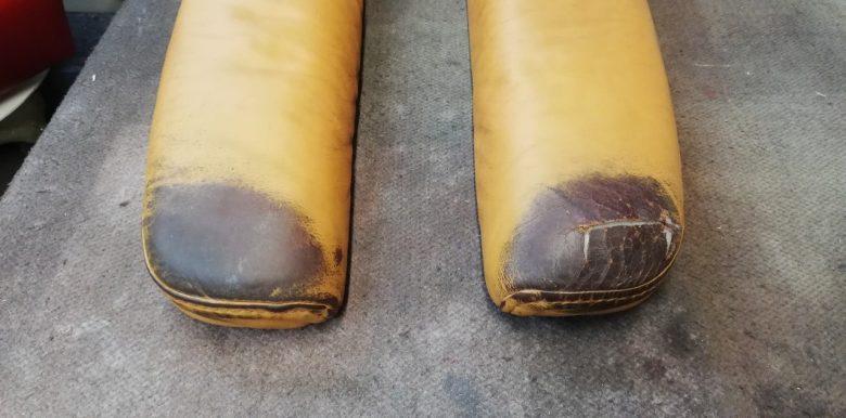 Stressless Sessel Armlehnen sind stark abgenutzt