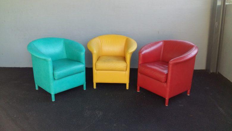 3er Sessel Kombi wird neu aufbereitet
