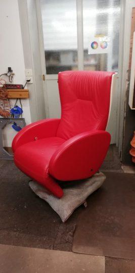 der Sessel sieht wieder perfekt aus