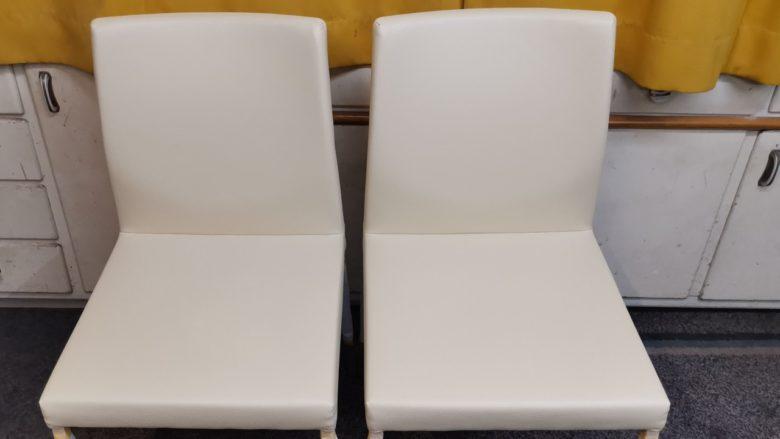 die Sessel sind wieder wie neu
