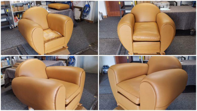 der Sessel ist wieder perfekt schön